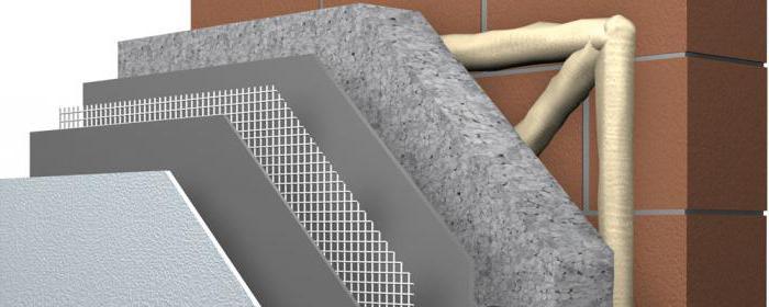 fasadų šiltinimas