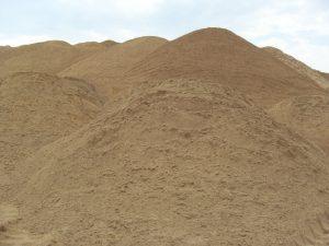 smėlis Panevėžyje